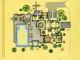 长沙最好别墅绿城青竹园临湖别墅****000平花园机会难得性价比高;